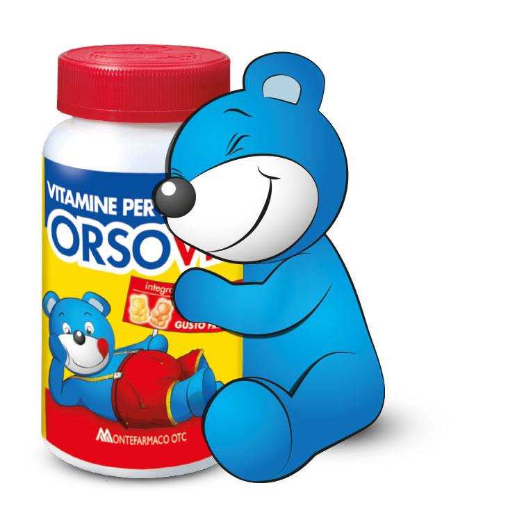 orso abbraccio barattolo orsovit