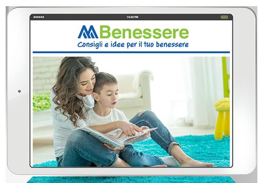 Magazine digitale benessere mamma bambini