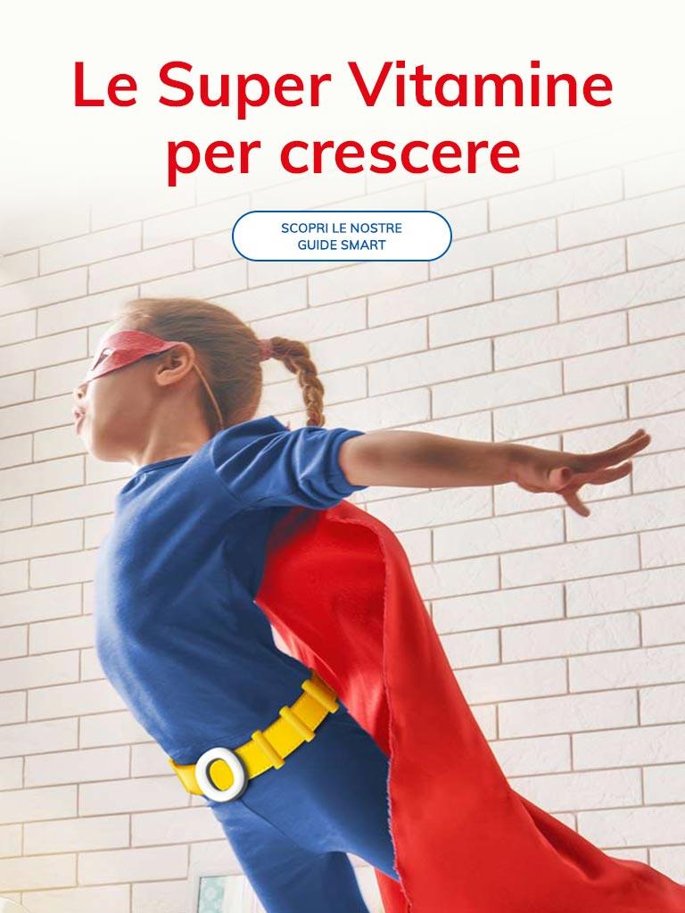 Integratori vitaminici crescere bambini Orsovit