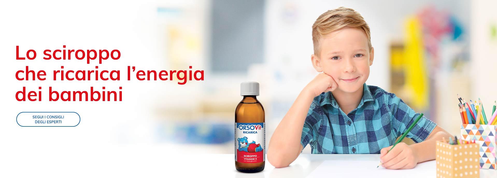 Multivitaminico liquido bambini aiuta stanchezza